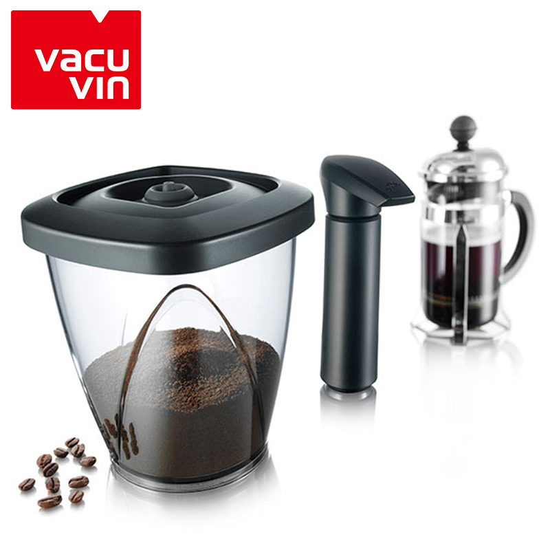 Imported vacu vin vacuum pumping fresh cans sealed cans milk cans tea caddy coffee cans bottles