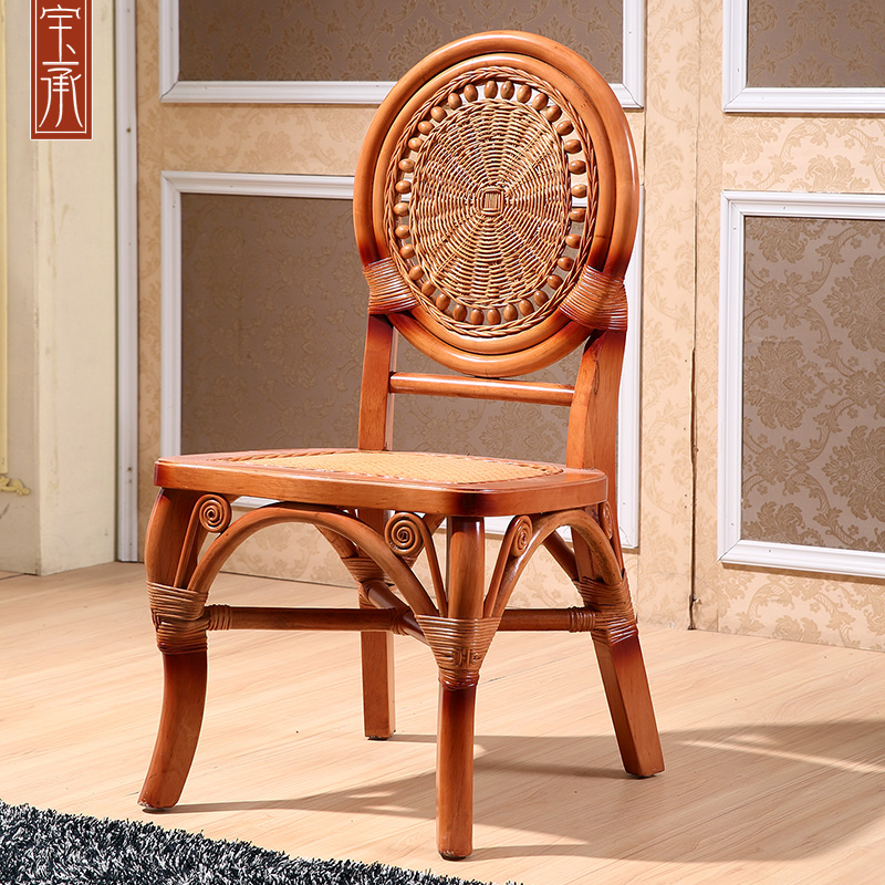 Indonesia imported rattan hotel southeast rattan rattan furniture rattan dining chair rattan dining chair rattan dining chair
