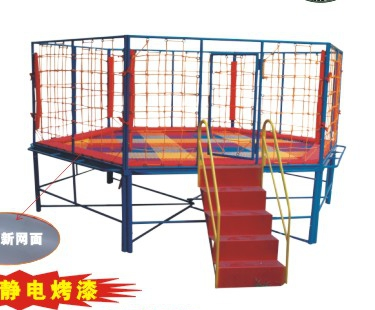 Indoor and outdoor round hexagonal trampoline for children/nursery trampoline/trampoline/children's trampoline fitness/jumping