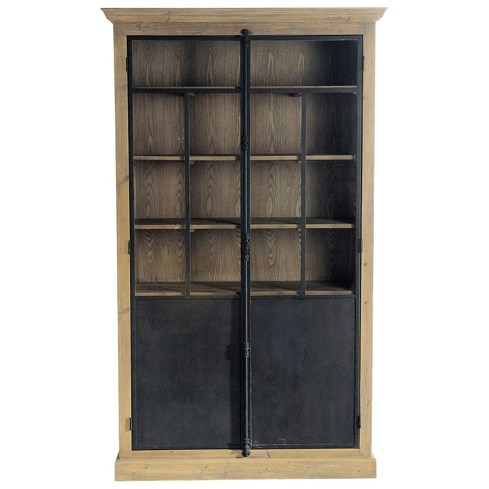 Industrial loft french country european retro american to do the old solid wood bookcase bookcase display rack free shipping