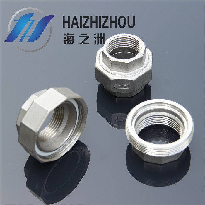 [Industry] haizhou pipe 304 stainless steel wire stainless steel union union by letting it 4 points 1 inch