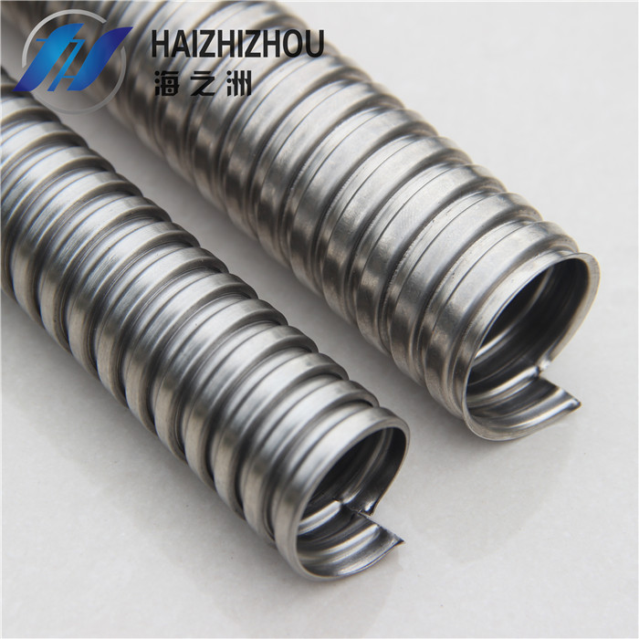 [Industry] haizhou pipe threading stainless steel hose stainless steel metal hose stainless steel hose snakeskin Pipe dn10