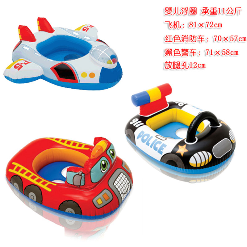 Infants and young children swimming laps intex inflatable swim ring baby seat baby seat ring swim lifebuoy send pump