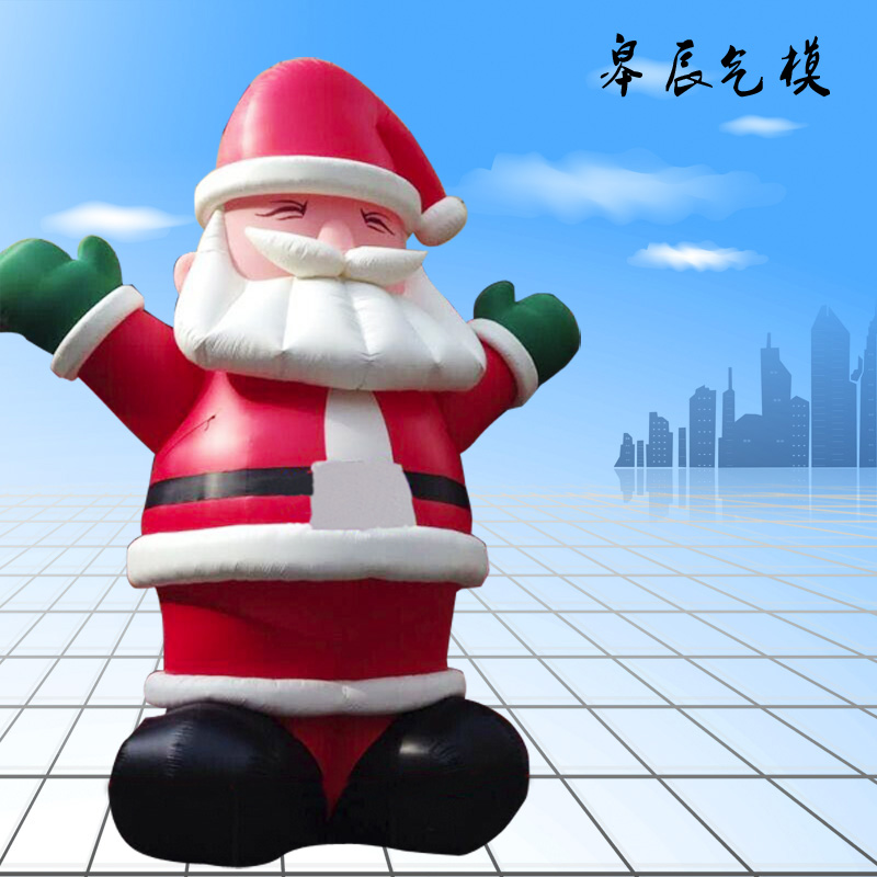 Inflatable cartoon inflatable santa claus inflatable christmas christmas decoration mall custom inflatable