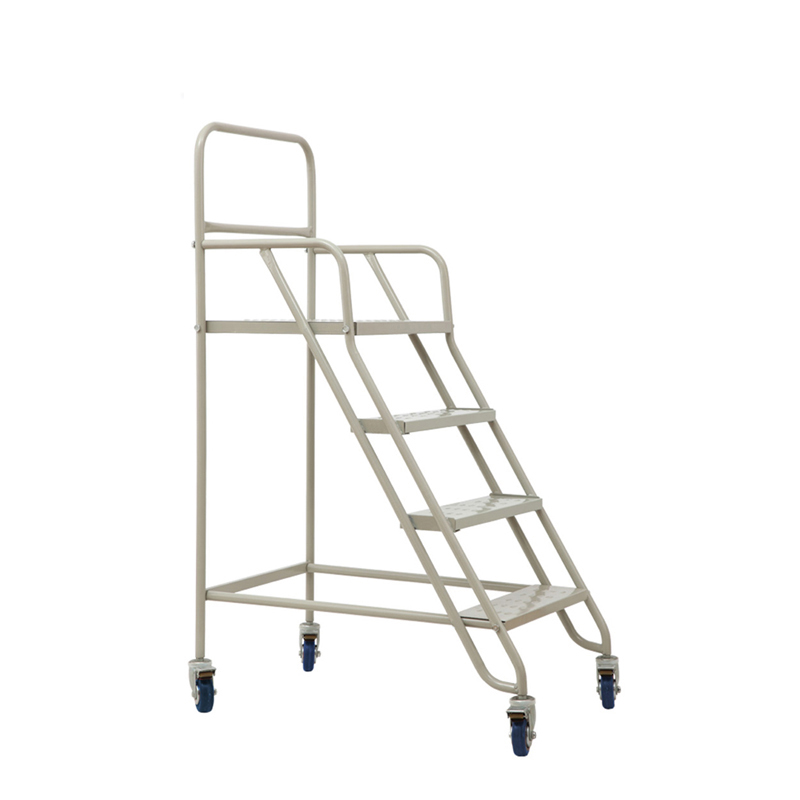 Infrant pulley mobile platform truck climbing car climbing ladders huoti take a car supermarket warehouse management 2 m can be customized