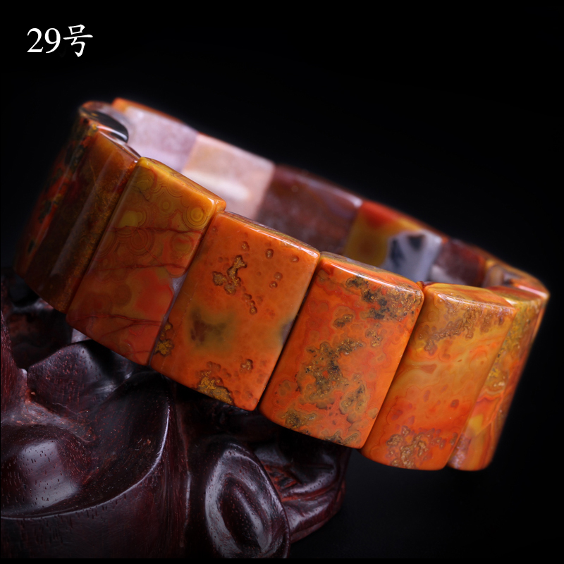 Ink yu xuan warring states red agate bracelet bracelets natural red graeve beipiao sengoku red mineral tablets 29 beads bracelets hand