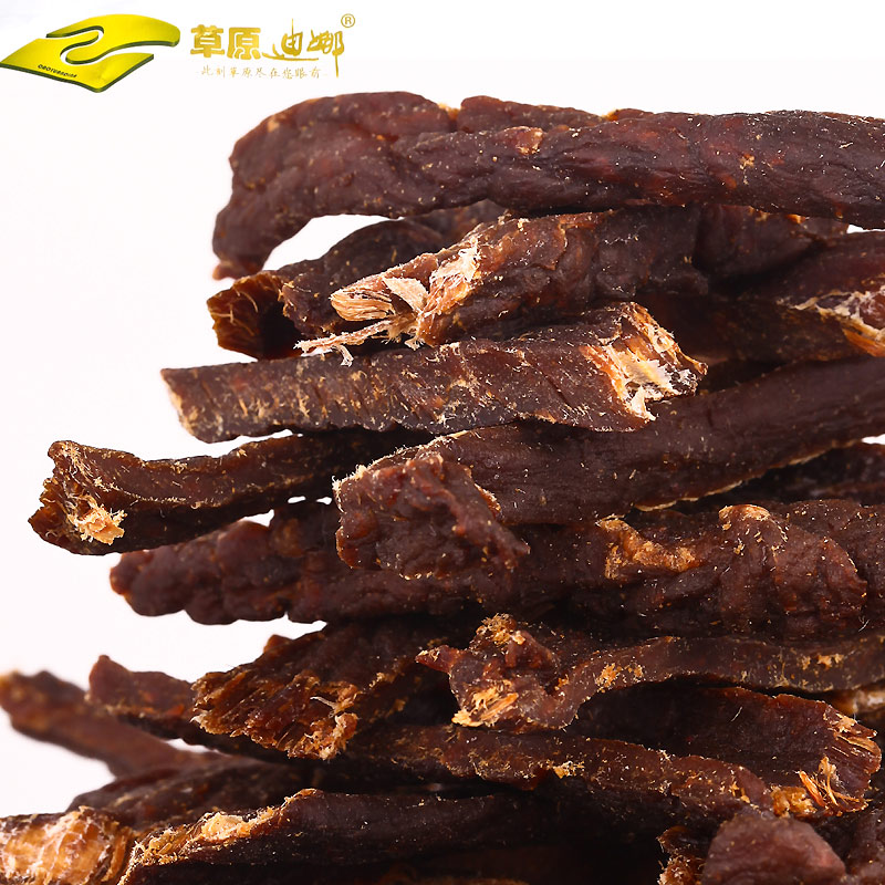 Inner mongolia dried beef jerky super dry shredded dried meat prairie dina fully dry dried meat snack snacks