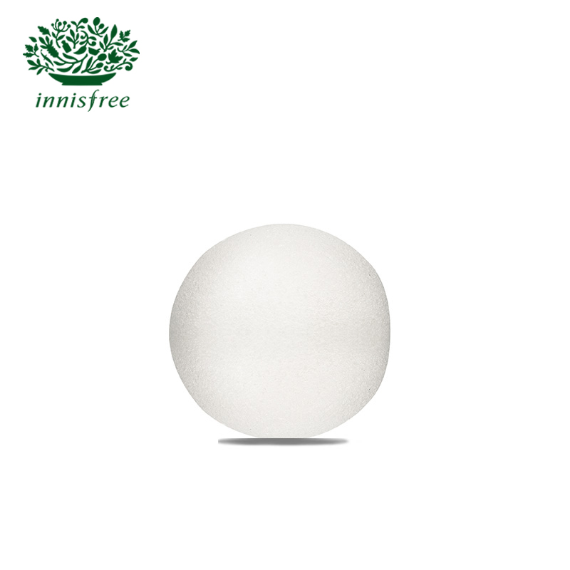 Innisfree/innisfree broadwood natural konjac cleansing wash flutter flutter sponge ball blistering ball squeeze squeeze