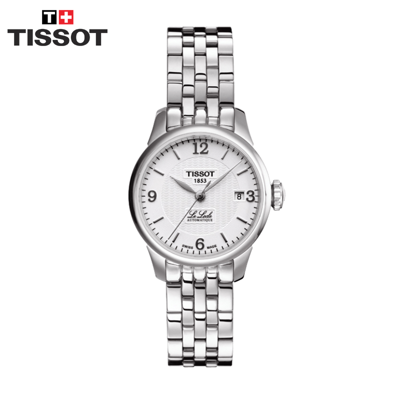 Installment purchase swiss tissot tissot le locle steel mechanical watches women watch female form t41.1.183.34