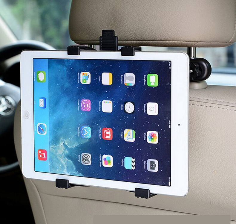 Ipad air2 apple mini car with a car backseat headrest backline hand machine bracket bracket lazy