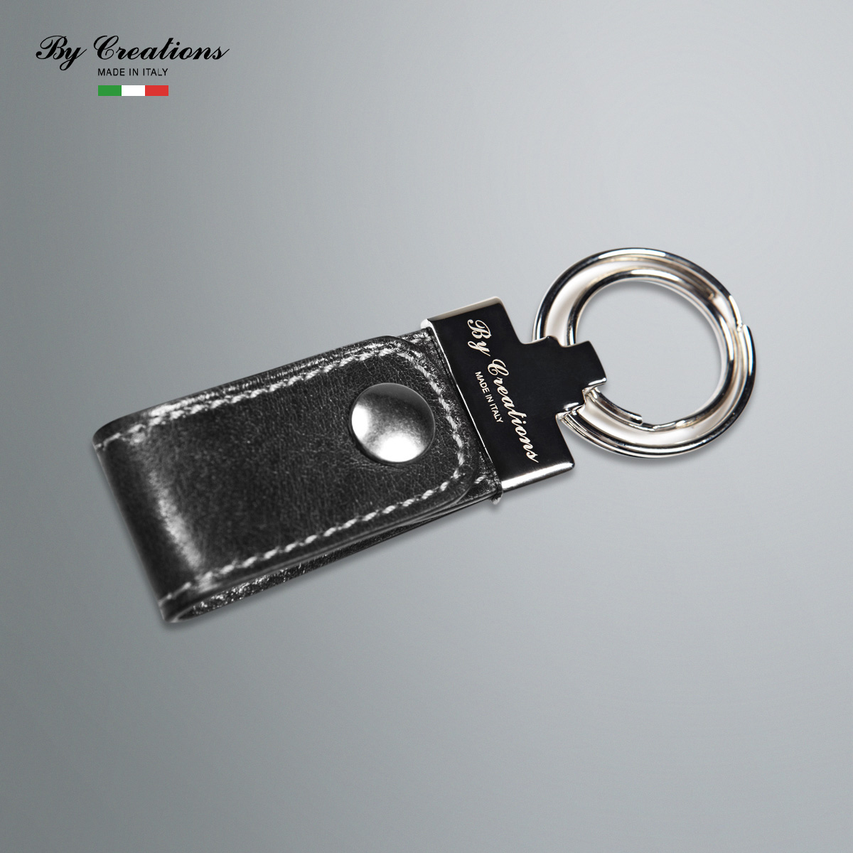 Italian cypress products manufactured by creations handmade leather car key chain key ring