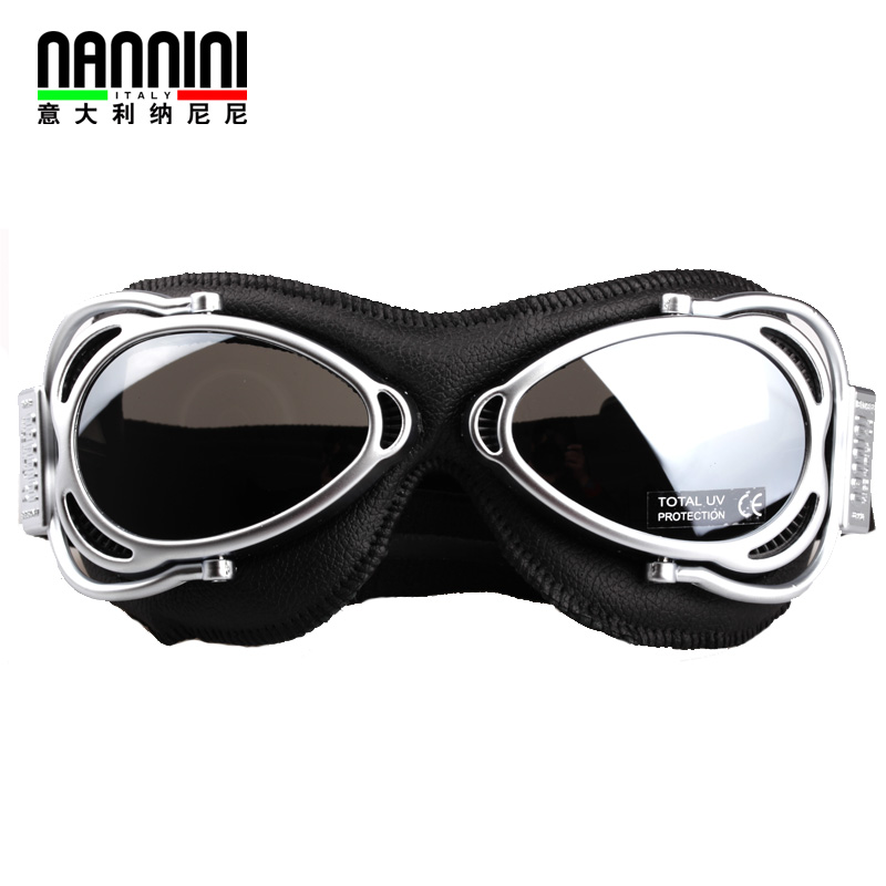 Italy imports nannini nani haleys motocross goggles outdoor riding goggles wind