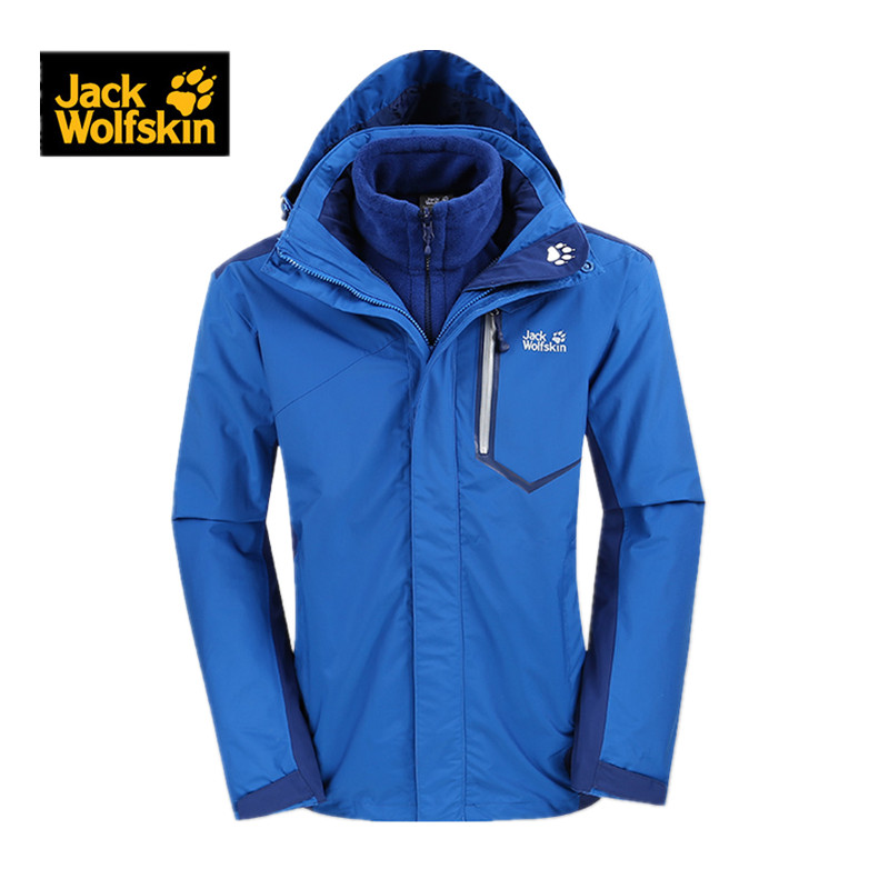 Jack wolfskin/dewclaws autumn and winter outdoor triple mens jackets 5005911