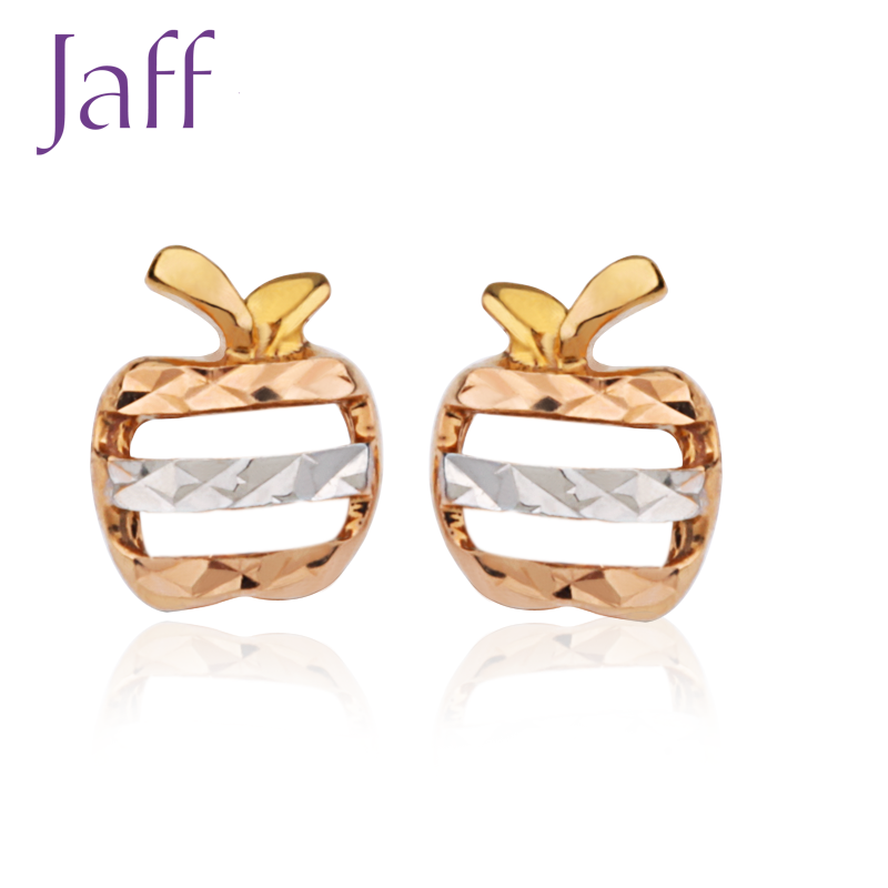 Jaff series katsuo jewelry earrings k gold earrings female models earrings ked-apple national mail