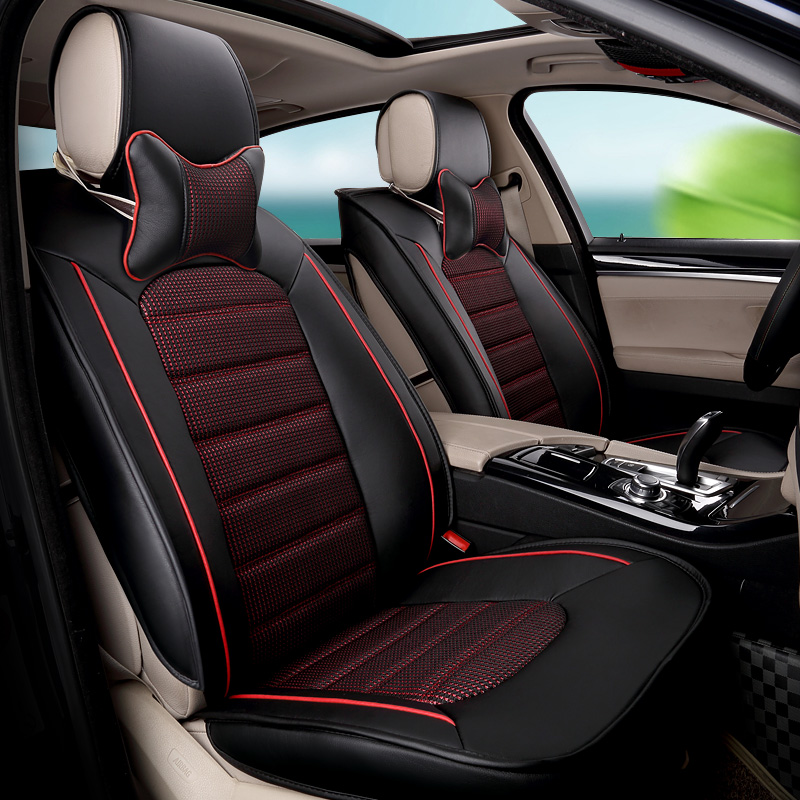 Jaguar xf/xe/mkz lincoln/mkc/mkx special summer ice silk seat cushion wholly surrounded by four seasons car Seat cushion