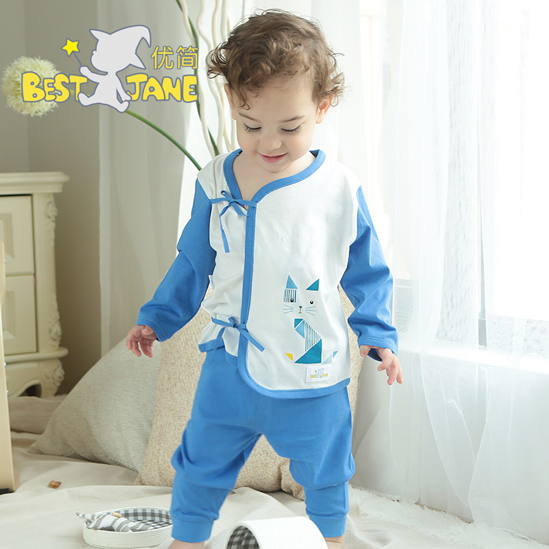 Jane excellent baby summer suits for men and women cotton underwear cotton baby clothes newborn clothes newborn baby clothes long sleeve underwear