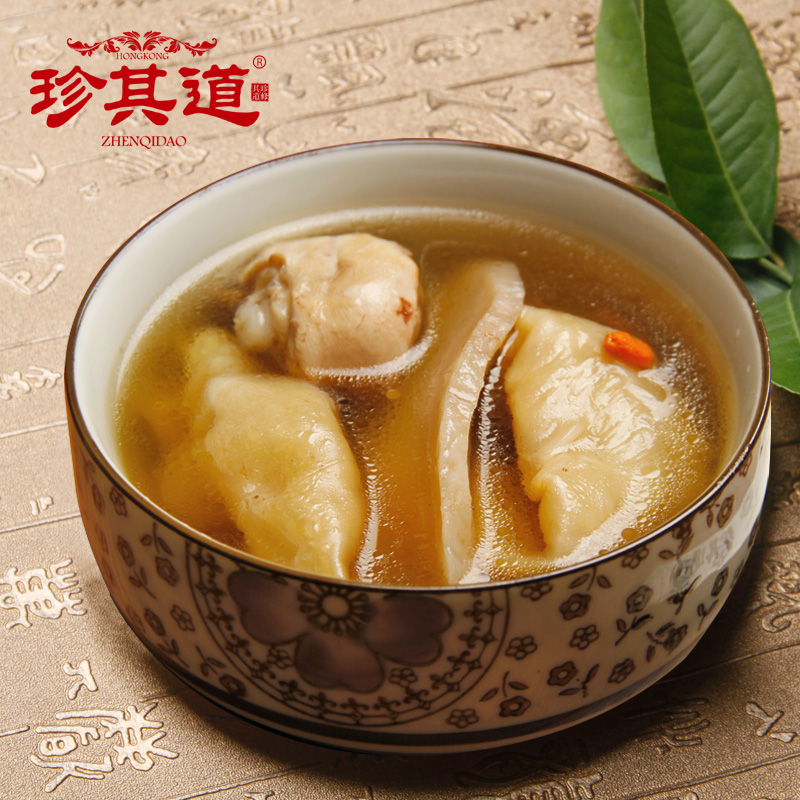 Jane the road guangdong old fire soup stew soup soup soup ingredients featured maw wolfberry six to eight servings