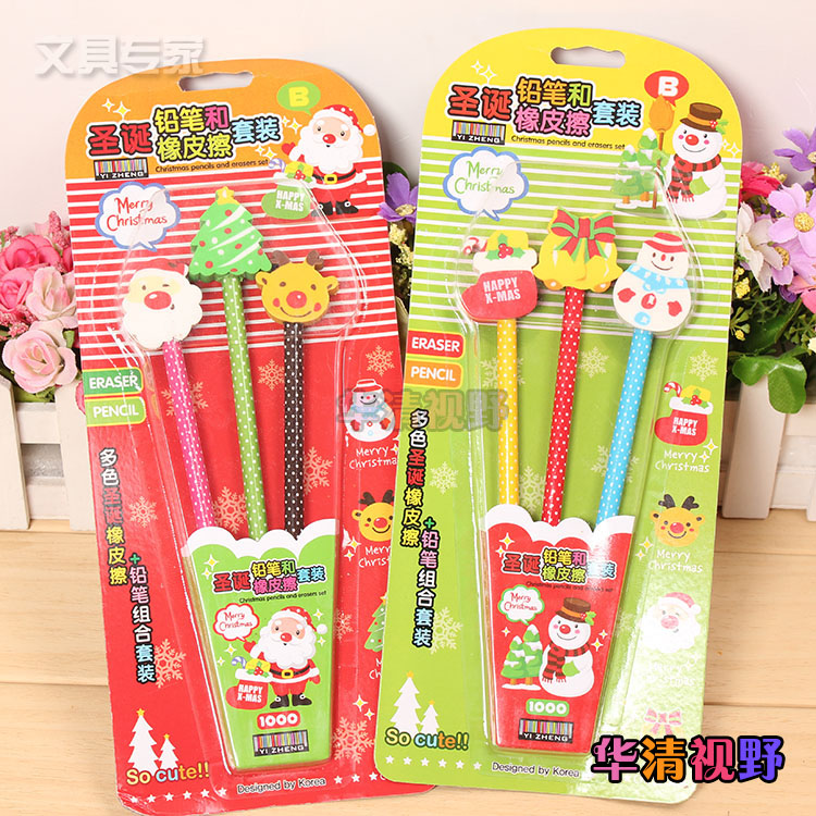 Japan and south korea creative stationery pencil eraser pencil child student gift student prizes cute christmas gift