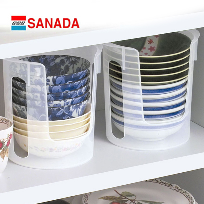Japan imported authentic sanada kitchen dish rack dish rack plastic cutlery rack storage rack ventilation drain bowl dish rack finishing