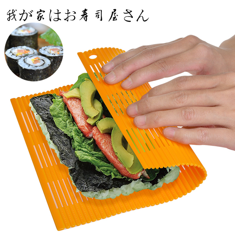 Japan imported kitchen diy sushi mold kimbap sushi curtain curtain sushi roll sushi tool