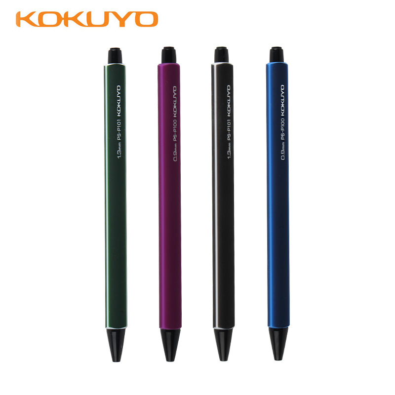Japan kokuyo kokuyo stationery | elastic pen easily broken lead 0.9/3mm students move 13.358kj activities pencil