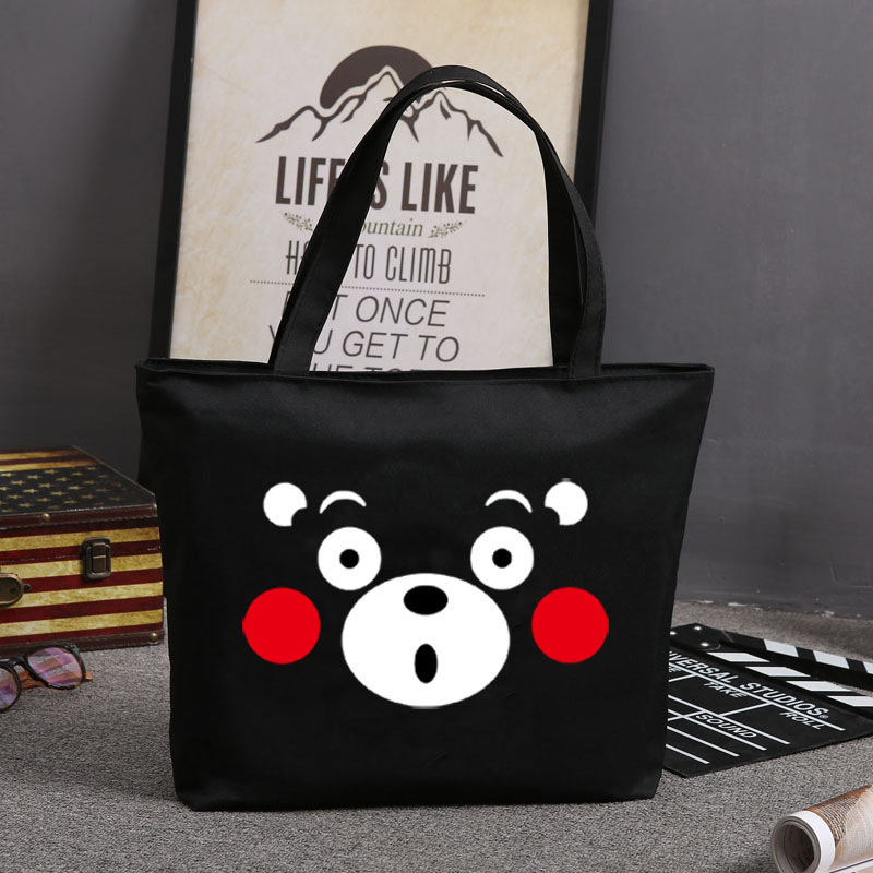 Japan kumamoto prefecture mascot kumamon kumamoto bear shoulder bag schoolbag cartoon backpack bag