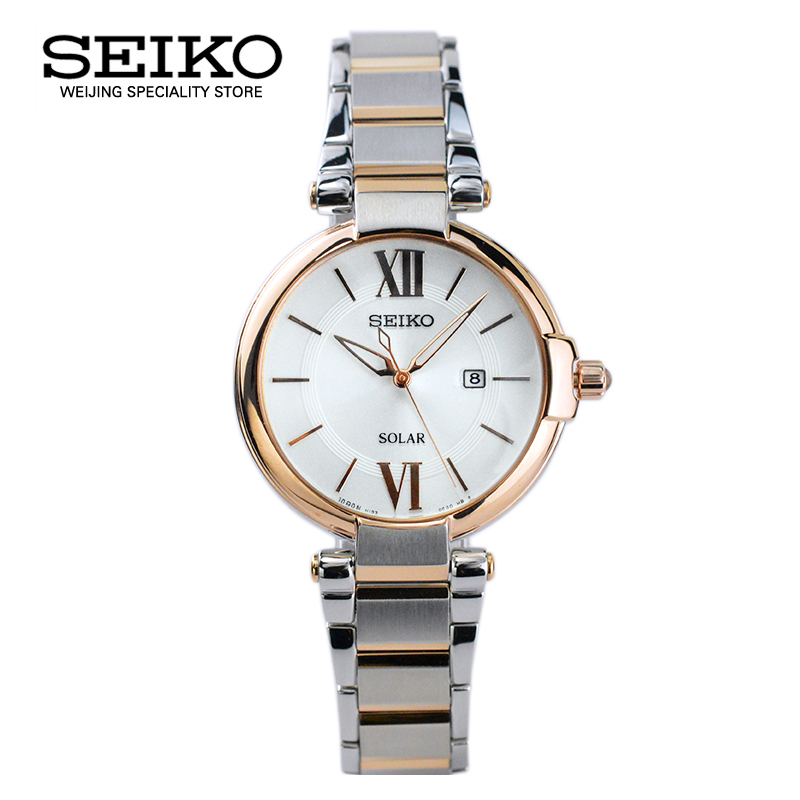 Japan original authentic seiko seiko solar solar ladies watches fashion female form sut156j1