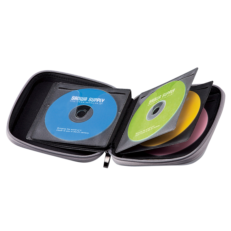 Japan sanwa hill industry 24/36/48 dvd disc cd package cd storage bag creative cute Disc box package