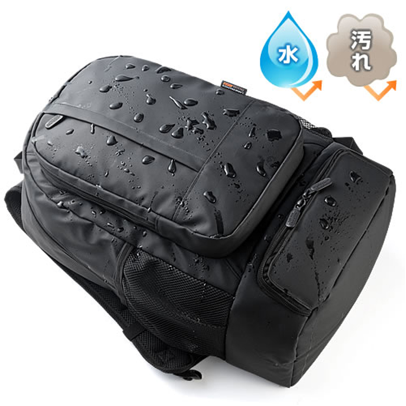 Japan sanwa/mountain industry 14 inch laptop shoulder bag backpack bag men's business casual waterproof bag