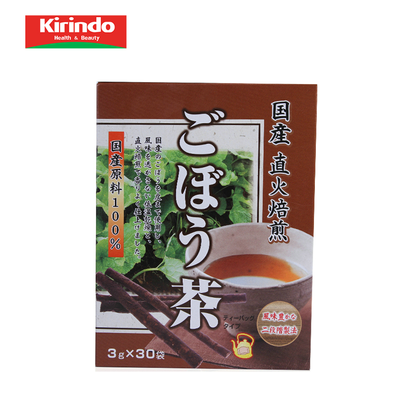 Japanese direct mail kirindo made in japan unimat nutrition direct fire roasted burdock tea health tea 30 bags
