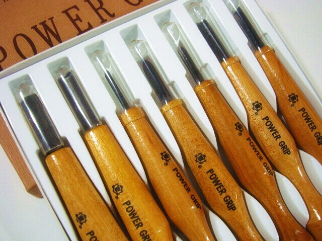 Japan's miki chapter woodcut knife chisel wood carving tools carving woodcut prints knife artisan qi this group
