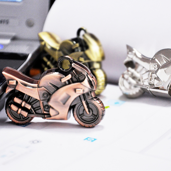 Jay flash motorcycle personalized usb flash drive 32g u disk u disk custom logo metal gifts fashion
