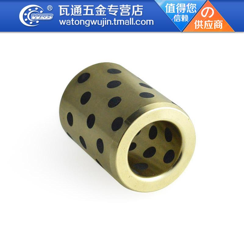 Jdb1010 sliding bushings jdb copper sleeve 10*14*10mm self lubricating graphite copper sleeve bushing sleeve bearing bushings