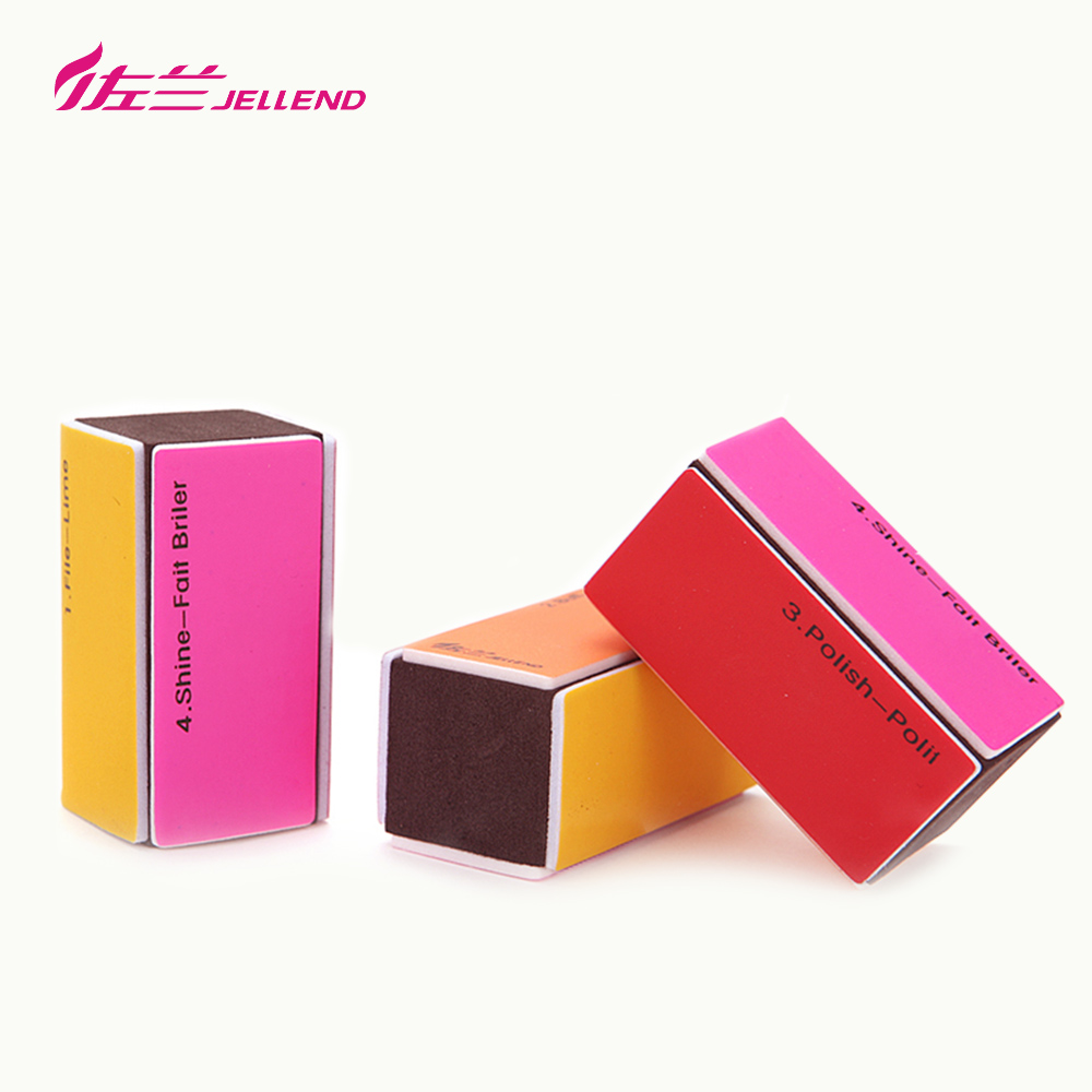 Jellend/zoran surrounded by nail polish block nail manicure nail file polishing cotton tofu