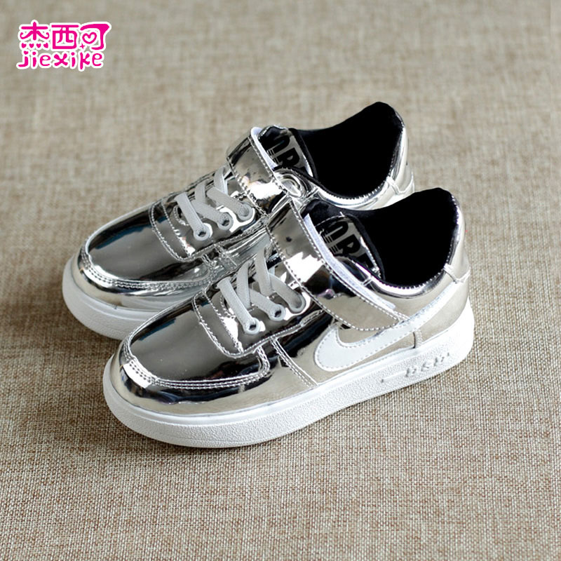 Jesse may 2016 boys and girls spring and autumn korean version of casual shoes boys shoes girls shoes sequined shoes