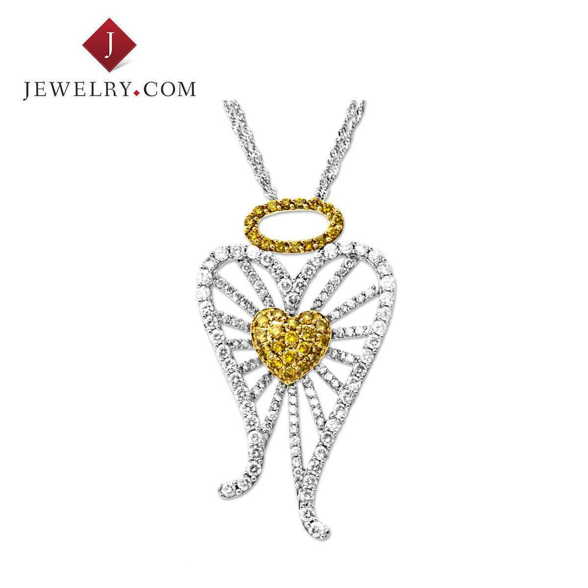 Jewelry.com official k gold diamond necklaces