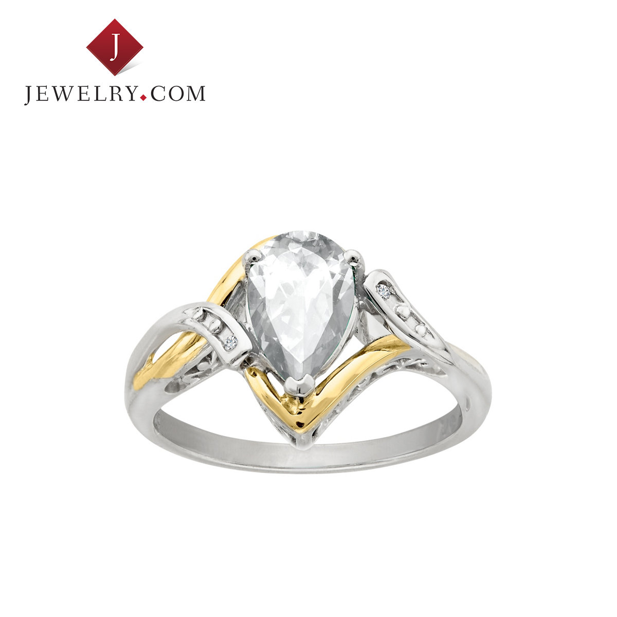 Jewelry.com official silver 925 k gold topaz nvjie exquisite fashion wild temperament elegant wind
