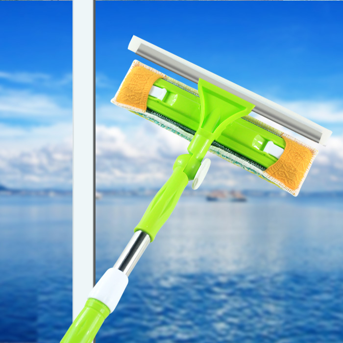 Jia jie long telescopic rod cabo sided glass is glass blowing glass cleaning tool cleaning