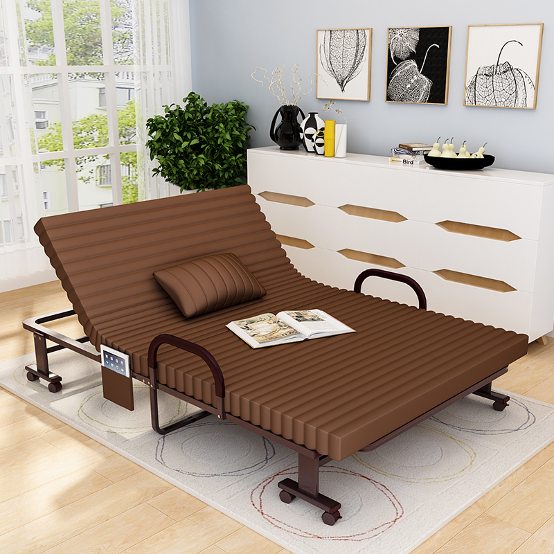 Jia xiqing reinforced folding bed linen person office nap bed twin bed folding bed camp bed siesta bed cot