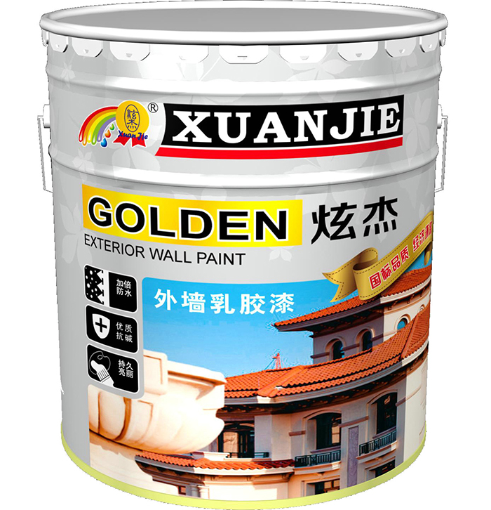 Jie jie hyun international standard exterior latex exterior paint diatom mud 20 kg