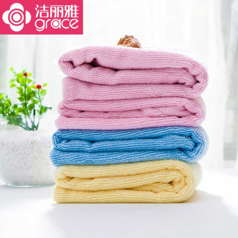 Jie ya super absorbent dry hair cap thick absorbent towel dry hair shower cap and quick rub hair turban towel