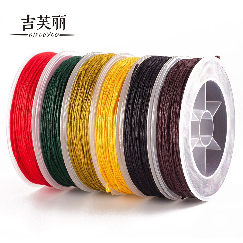 Jifu li line no. 72 wire knitting bracelet bracelets diy braided wire line 18 m 0.8mm