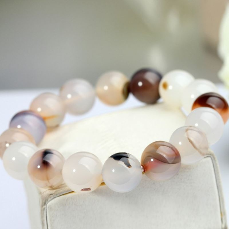 Jing huan agates waterweeds floating flowers sweet personality girlfriends bracelets lap beads bracelet fashion jewelry japan and south korea