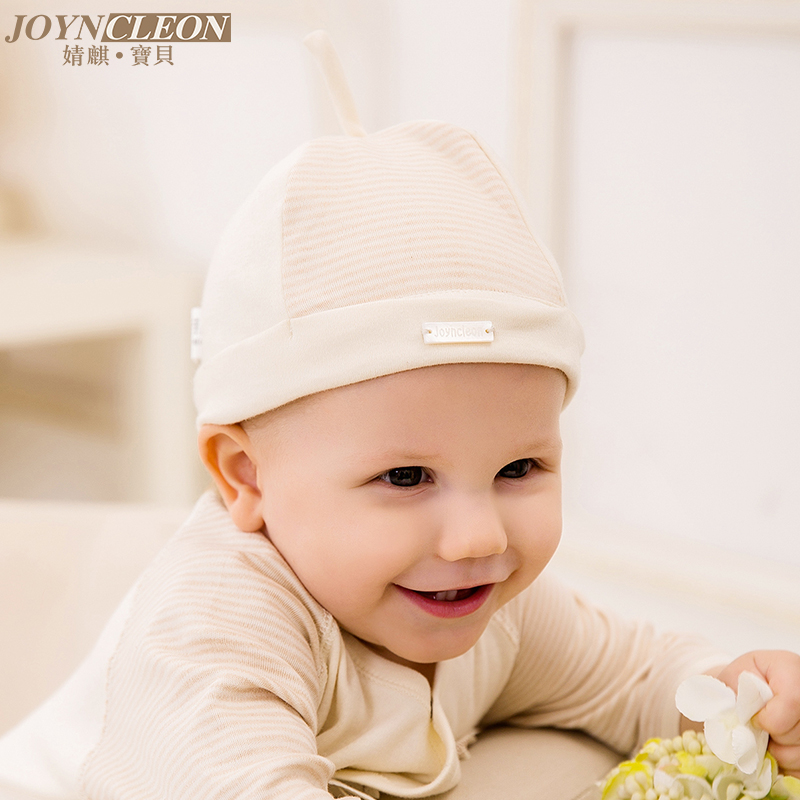 Jing qi newborn baby hat baby hat children hat infant hat cotton hat fetal organic cotton spring and autumn