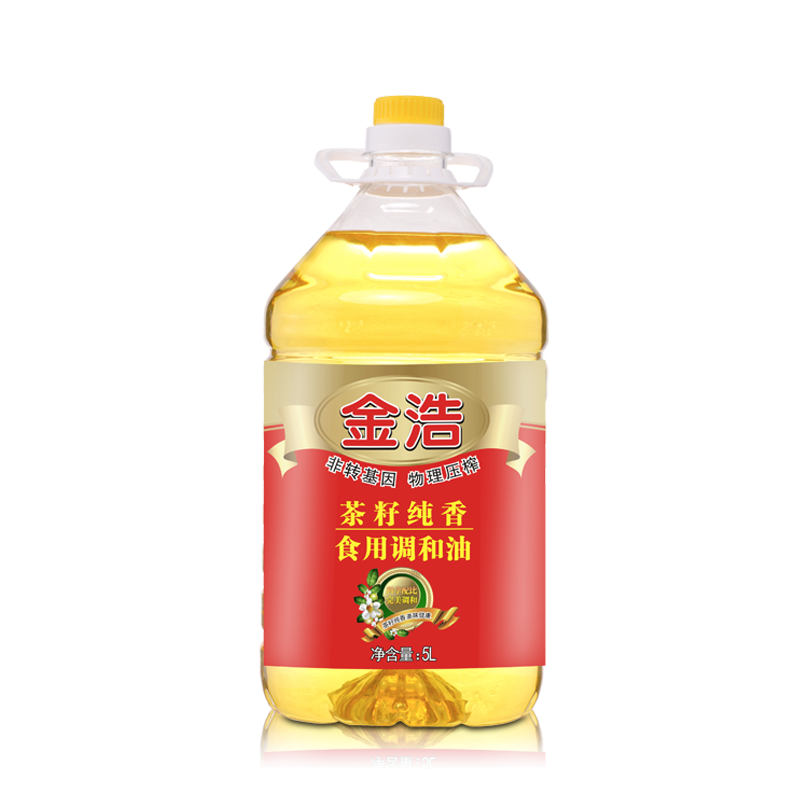 Jinhao pure incense edible oil physical squeezing edible tea seed oil 5l