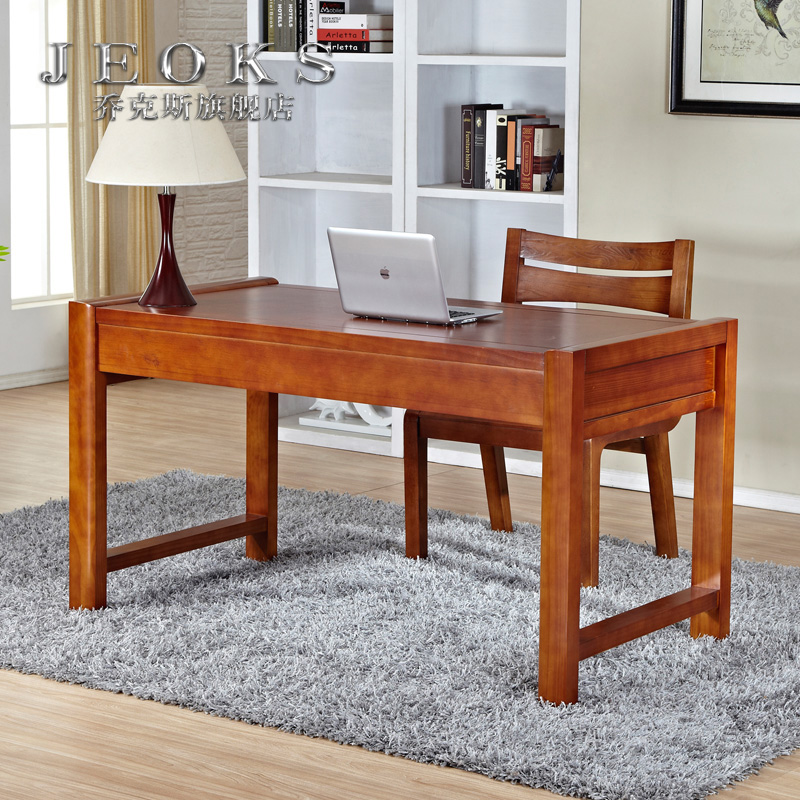 Jocks archaized new chinese solid wood desk desk desk computer desk study table desk calligraphy
