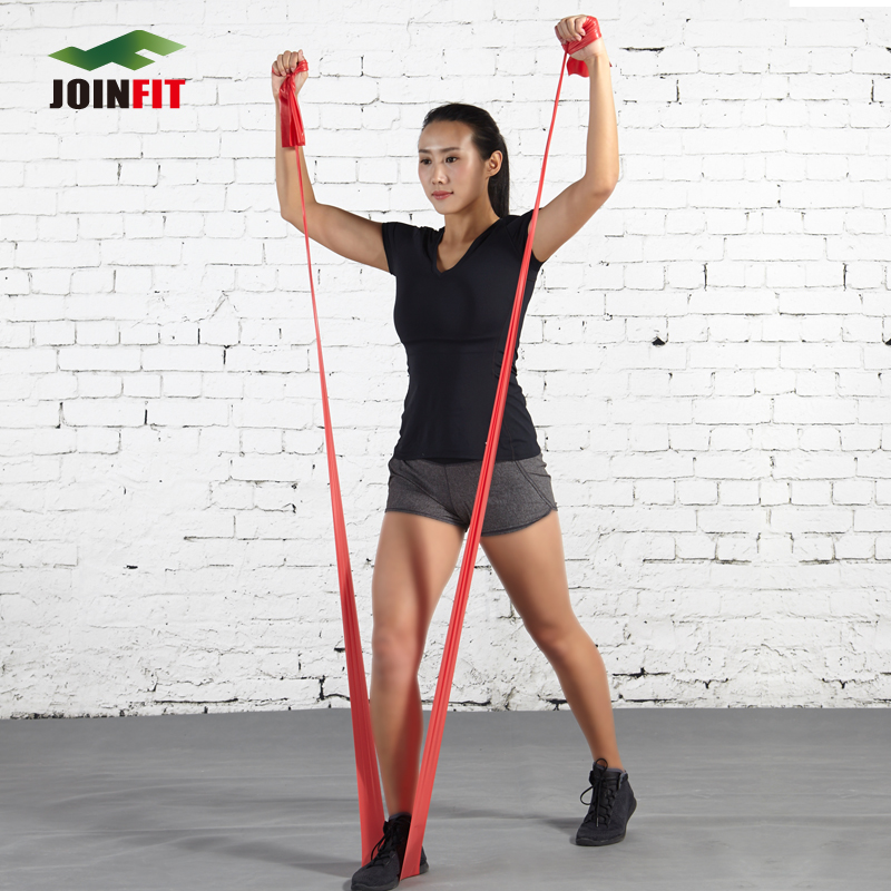 Joinfit extended fitness elastic band resistance bands yoga belt tension reinforcement movement yaga stretch band