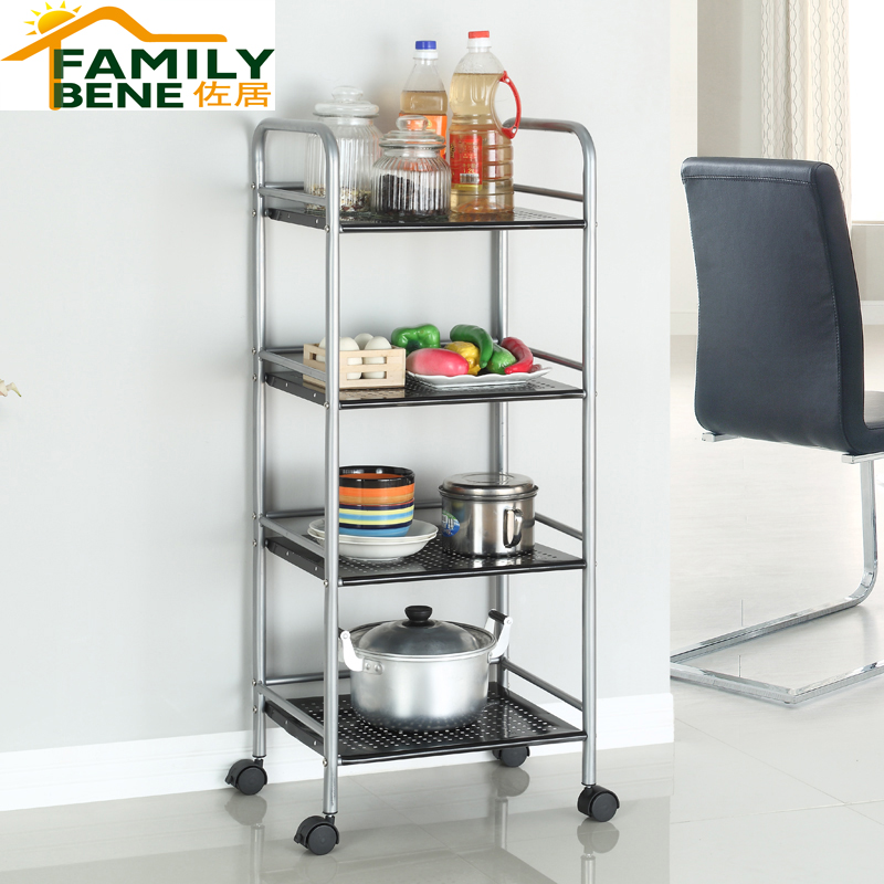 Get Quotations · Junior Ranks Shelf Wire Shelving Racks Kitchen Floor  Bathroom Shelf Storage Rack Four Debris Racks Storage