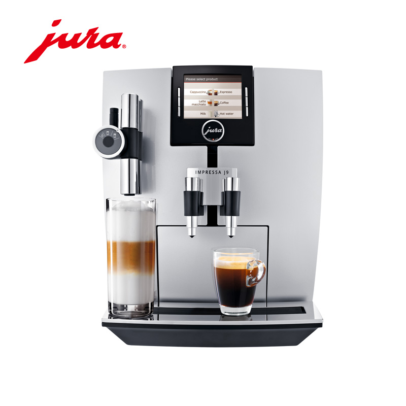 Jura/jura impressa automatic coffee machine home office tft jselect j9