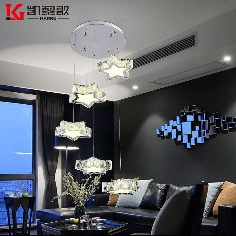 China star shaped chandelier china star shaped chandelier shopping get quotations kai lai song crystal star shaped 5 head 8 head stylish bar restaurant chandelier chandelier modern aloadofball Image collections